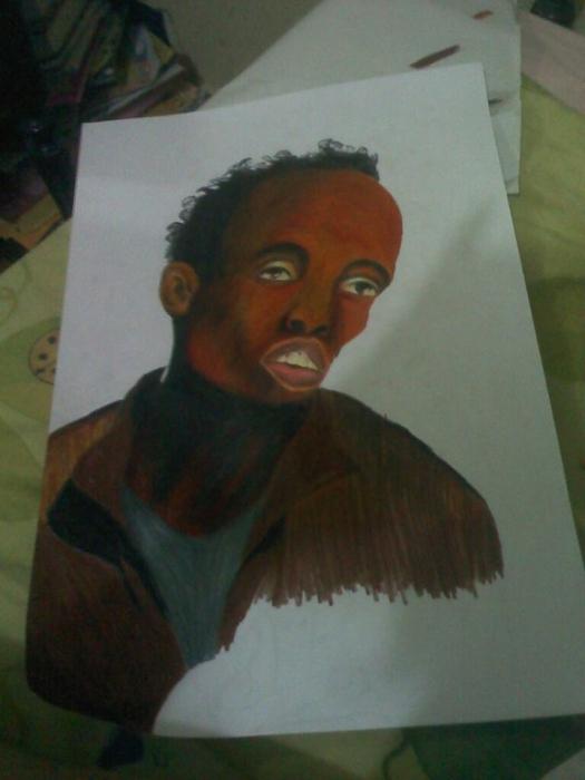 Barkhad Abdi by D4N13L4